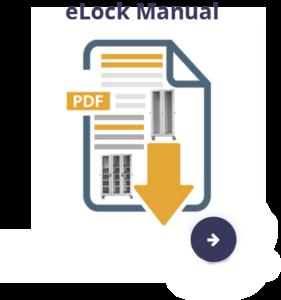 E lock mount button