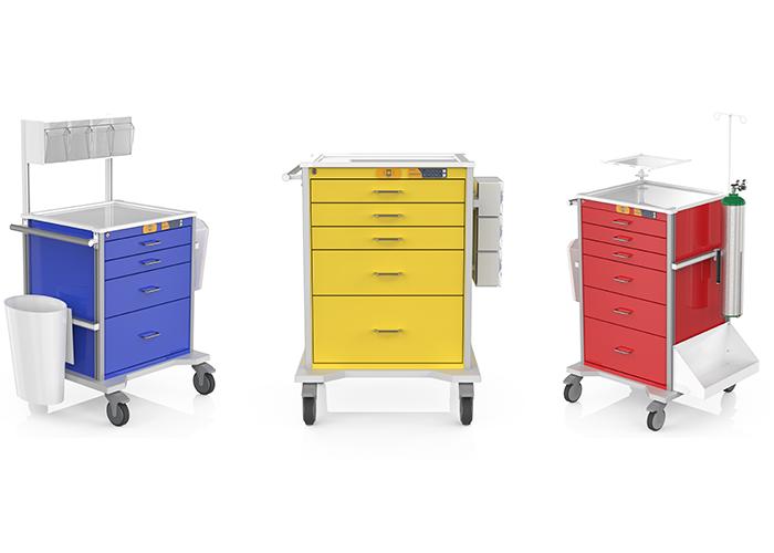 specialty cart renderings
